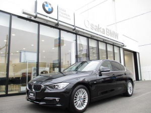 BMW 3シリーズ 320d ラグジュアリー 弊社下取りワンオーナー・アクティブクルーズコントロール・サドルブラウンレザー・純正HDDナビ・バックカメラ・DVD再生機能・認定中古車・全国保証