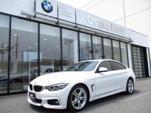 BMW 4シリーズ 420iグランクーペ Mスポーツ 後期モデル・純正HDDナビ・地デジ・バックカメラ・LEDヘッドライト・アクティブクルーズコントロール・フロントシートヒーター・電動リアゲート・コンフォートアクセス・全国保証・認定中古車
