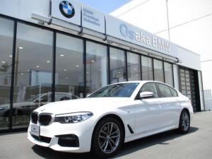 BMW 5シリーズ 523d xDrive Mスピリット 弊社デモカー イノベーションパッケージ ヘッドアップディスプレイ  HDDナビ ルームミラー内蔵ETC2.0 ワイヤレスチャージング ジェスチャーコントロール LEDヘッドライト
