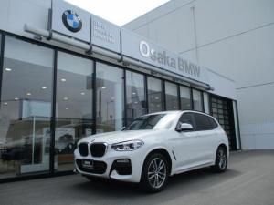BMW X3 xDrive 20d Mスポーツ 弊社下取りワンオーナー・ハイライン・モカレザーシート・ヘッドアップディスプレイ・アクティブクルーズコントロール・純正HDDナビ・地デジ・バックカメラ・LEDヘッドライト・全国保証・認定中古車