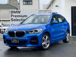 BMW X1 sDrive 18i Mスポーツ 後期型 弊社デモカー ハイラインPKG ブラックレザーシート シートヒーティング 10.25ワイドモニター LEDヘッドライト