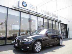BMW 1シリーズ 118i Mスポーツ 弊社下取り車 コンフォートPKG パーキングサポートPKG リヤビューカメラ コンフォートアクセス 左右独立オートエアコン Bluetoothオーディオ