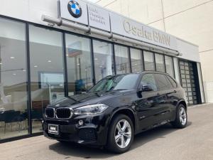BMW X5 xDrive 35d Mスポーツ セレクトパッケージ パノラマガラスサンルーフ ブラックレザーシート アクティブクルーズコントロール リヤビューカメラ ソフトクローズドア Bluetoothオーディオ ハンズフリーテレフォンシステム