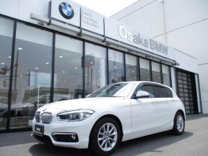 BMW 1シリーズ 118i スタイル コンフォートパッケージ・パーキングサポートパッケージ・純正HDDナビ・バックカメラ・衝突軽減ブレーキ・LEDヘッドライト・DVD再生機能・ミュッジックサーバー・コンフォートアクセス・全国保証