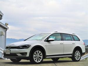 フォルクスワーゲン ゴルフオールトラック TSI 4モーション VW純正ナビ ETC ACC バックカメラ デジタルメーター フロントアシスト レーンアシスト LEDヘッドライト シートヒーター Bluetooth 新車保証継承 ディーラー車