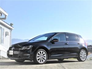 フォルクスワーゲン ゴルフ TSIハイライン VW純正ナビ ETC バックカメラ レザーシート Bluetooth ACC フロントアシスト レーンアシスト 認定中古車保証 ディーラー車