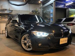 BMW 3シリーズ 320dツーリング Mスポーツ アダプティブクルーズコントロール レーンデパーチャー 衝突軽減ブレーキ Mブレーキ 純正HDDナビ バックカメラ ミラーETC パワートランク コンフォートアクセス M純正18AW LEDポジ 禁煙