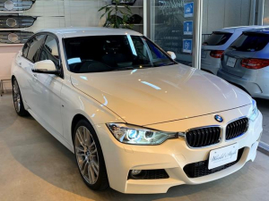 BMW 3シリーズ 320i Mスポーツ BMW M19インチアルミホイール 純正HDDナビ バックカメラ アクティブクルーズコントロール 追従クルーズ 衝突軽減ブレーキ 車線逸脱センサー ドライブレコーダー エンジンプッシュスタート 禁煙