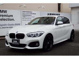 BMW 1シリーズ 118i Mスポーツ エディションシャドー ワンオーナー アップグレードパッケージ コンフォートパッケージ 黒レザー 18AW ACC