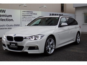 BMW 3シリーズ 320dツーリング Mスポーツ 元レンタカー ACC レーンチェンジ LEDヘッド