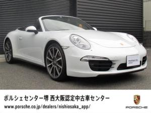 ポルシェ 911 911カレラ4 カブリオレ 左ハンドル 20インチカレラクラシックホイール/スポーツテールパイプ/スポーツデザインステアリングホイール
