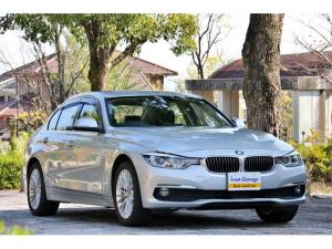 BMW 3シリーズ 320d ラグジュアリー 後期モデル/クリーンディーゼル車LEDヘッドライト黒革シート・車庫保管・新品タイヤ交換お渡し
