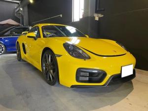 ポルシェ ケイマン GTS 2015Y ワンオーナー