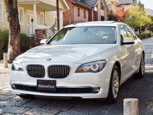 BMW 7シリーズ 740i アニバーサリーエディション コンフォート&プラスPKG ペールホワイト ベージュ革 禁煙 TVキャンセラー付きで走行中視聴