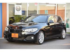 BMW 1シリーズ 118i Mスポーツ ワンオーナー 走行7千km 純正ナビ パーキングサポート Bカメラ 衝突軽減ブレーキ アクティブクルコン ETC LEDヘッドランプ ガラスコーティング済 禁煙ディーラー車