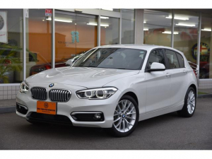 BMW 1シリーズ 118i ファッショニスタ ベージュ本革シート iDriveナビ Pサポート衝突軽減ブレーキ アクティブクルコン コンフォート・アクセス LEDランプ ストップ&ゴー ライトパッケージ ETC 禁煙屋内ガレージ保管車