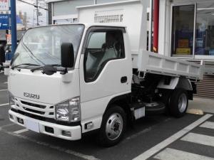 いすゞ エルフトラック 2t強化ダンプ 4WD 未使用車