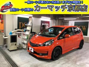 ホンダ フィット RS・純正ナビ・TV・ETC・社外17アルミ