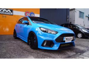 ヨーロッパフォード フォーカス RS RS nitrous blue ダウンサス 19インチホイール moutune400PSキット moutune製エンジンキット交換済 LSD Milltek製エキゾースト