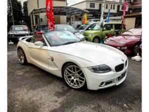 BMW Z4 ロードスター2.5i ロードスター2.5i(2名) エアロ アルミ レムスマフラー トランクスポイラー 赤レザー