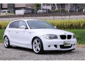 BMW 1シリーズ 116i Mスポーツパッケージ 車検有効期限 2022年5月 走行距離 7.8万 地デジナビ ETC 18インチアルミホイール 黒革ハーフレザーシート プッシュスタート スペアキー