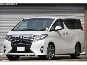 トヨタ アルファード 2.5X 両側電動ドア 純正ナビ 地デジ Bluetooth