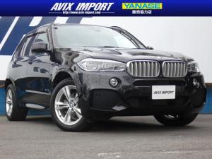 BMW X5 xDrive35dMスポーツ 黒革 ACC 19AW 禁煙車