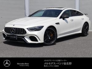 メルセデスAMG GT 4ドアクーペ 63 S 4マチック+ AMGパフォーマンスP・AMGカーボンP・AMGカーボンセラミックブレーキ