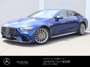 メルセデスAMG GT 4ドアクーペ 63 S 4マチック+ フルレザー 認定中古車2年保証