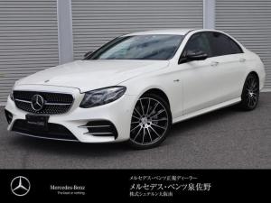メルセデスAMG Eクラス E43 4マチック 認定中古車2年保証 ダイヤモンドホワイトM