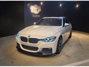 BMW 3シリーズ 320d Mスポーツ ブラックキドニーグリル・サンルーフ・ダコタレザーシート・前席シートヒーター・ミラー型ETC・19インチアルミホイール