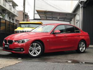 BMW 3シリーズ 320i スポーツ バックカメラ アクティブクルーズコントロール レーンキープアシスト 電動シート 純正ナビ 電動ミラー LEDヘッドライト マルチファクションステアリング シートメモリー レインセンサーワイパー