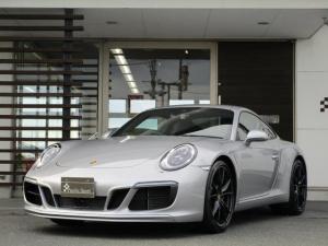 ポルシェ 911 911カレラ 991 スポーツクロノパッケージ GTシルバーメタリック 禁煙車 ワンオーナー 右ハンドルディーラー車