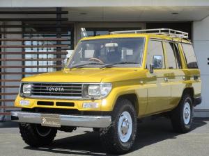 トヨタ ランドクルーザープラド  3.0EX 禁煙車 サンルーフ付き イエローメタリック