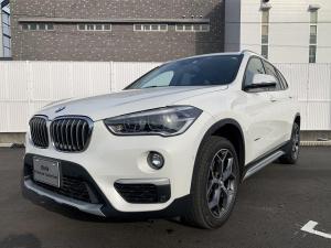 BMW X1 sDrive 18i xライン コンフォートPKG LEDヘッドライト 18AW PDC オートトランク スマートキー 純正ナビ iDriveナビ リアビューカメラ 純正ETC レーン ディパーチャー ウォーニング 認定中古車