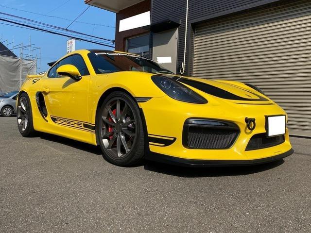 ポルシェ ケイマン GT4 KWcs付 スポーツクロノ カーボンシート スポエグ