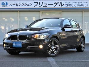 BMW 1シリーズ 120i スポーツ ワンオーナー 純正HDDナビツインターボ