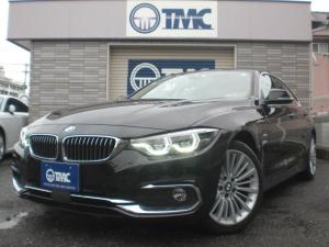 BMW 4シリーズ 420iグランクーペ ラグジュアリー ナビ TV 黒革