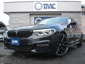 BMW 5シリーズ 530i Mスポーツ サンルーフ 黒革 ドライビングアシスト パーキングアシストプラス シートヒーター ベンチレーションシート アンビエントライト ドライビングモード ETC 360カメラ アイドリングストップ