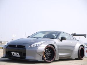 日産 GT-R LB-WORKS 構変済み 後期ヘッドライト ブーストUP
