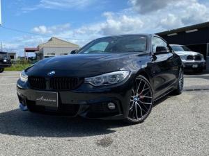 BMW 4シリーズ 435iクーペ Mスポーツ コーラルレッドレザーインテリア オプション20インチアルミ オプションレッドキャリパー 純正ナビ バックカメラ 純正LEDヘッドライト アダプティブクルーズコントロール
