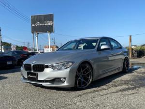 BMW 3シリーズ 320i ローダウン車高調サス 社外19インチアルミ 純正HDDナビ バックカメラ スマートキー 電動シート