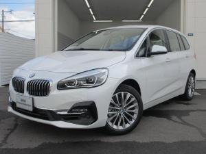 BMW 2シリーズ 218iグランツアラー Luxury オイスター革 ACC
