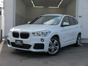 BMW X1 xDrive 18d Mスポーツ ワンオーナー タッチパネルナビ CD/DVD再生 シートヒーター 電動トランクゲート
