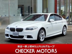 BMW 5シリーズ 523i Mスポーツ サンルーフ オプション19インチアルミ 純正HDDナビTV Bluetooth対応 バックカメラ DVD CD クルーズコントロール パドルシフト オートブレーキホールド ルームミラー内蔵ETC