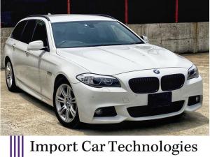 BMW 5シリーズ 523dブルーパフォーマンス ツーリングMスポーツP HDDナビ Bluetooth  TV バックカメラ パワーシート ミラー型ETC パドルシフト クルーズコントロール 18インチアルミ
