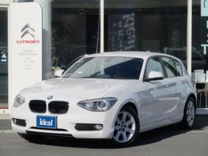 BMW 1シリーズ 116i 黒革シート 純正HDDナビ キセノン Bカメラ