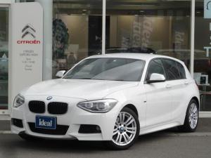 BMW 1シリーズ 116i Mスポーツ 純正HDDナビ キセノン スマートキー 純正17AW
