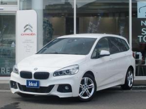 BMW 2シリーズ 218dグランツアラー Mスポーツ 純正HDDナビ LEDライト Bカメラ 電動ゲート 衝突軽減ブレーキ レーンアシスト 前後ソナー ETC スマートキー アイドリングストップ Bluetooth接続可