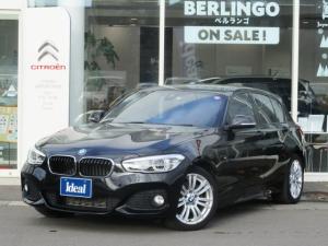 BMW 1シリーズ 118i Mスポーツ 黒革 HDDナビ LEDライト バックカメラ レーンアシスト スマートキー ETC シートヒーター バックソナー ミュージックサーバー Bluetooth接続可